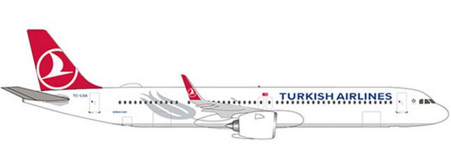 herpa 532853 Turkish Airlines A321neo | WINGS 1:500