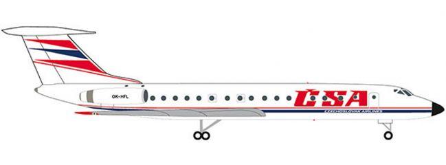 herpa 532945 CSA Tupolev TU-134A | WINGS 1:500