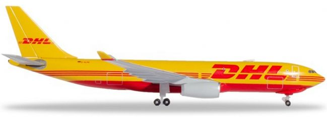 herpa 532969 DHL Aviation Airbus A330-200F | WINGS 1:500