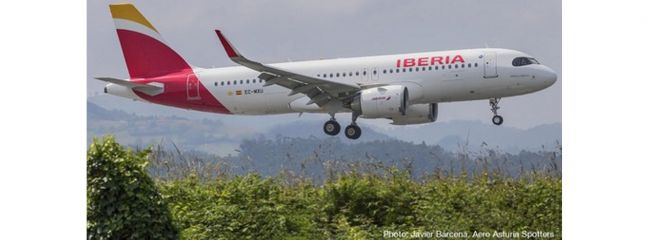 herpa 533027 Iberia Airbus A320 neo | WINGS 1:500
