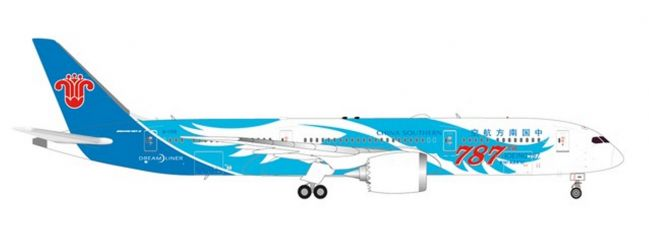 herpa 533300 Boeing 787-9 Dreamliner China Southern Airlines Flugzeugmodell 1:500
