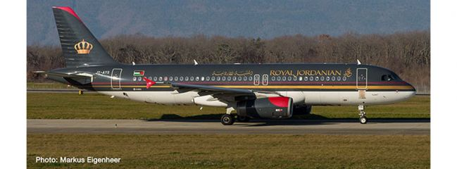 herpa 533577 Airbus A320 Royal Jordanian Airlines Aqaba Flugzeugmodell 1:500