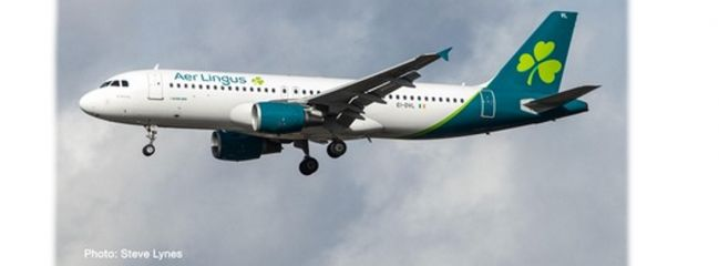 herpa 533690 Airbus A320 Aer Lingus new colors Flugzeugmodell 1:500