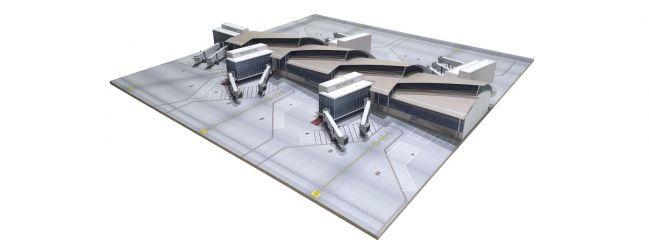 herpa 533867 Los Angeles Flughafen  South Concourse Tom Bradley International Terminal Bausatz 1:500
