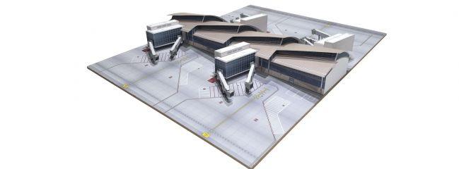 herpa 533881 Los Angeles Flughafen Midsection Tom Bradley International Terminal Bausatz 1:500