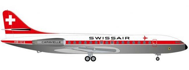 herpa 534062 Swissair Sud Aviation SE-210 Caravelle Schwyz   WINGS 1:500