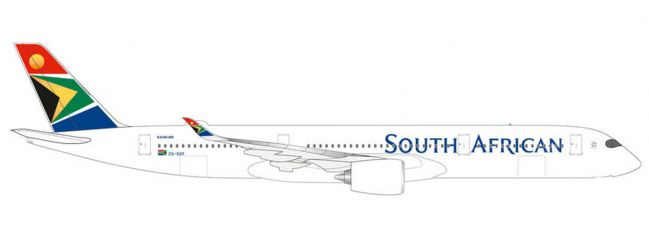 herpa 534390 A350-900 South African Airways | Flugzeugmodell 1:500