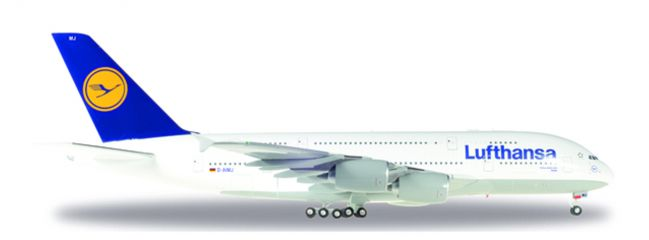 herpa WINGS 550727-004 Airbus A380-800 Lufthansa Brüssel Flugzeugmodell 1:200