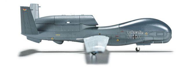 herpa 555340 RQ-4B Global Hawk Luftwaffe Flugzeugmodell 1:200