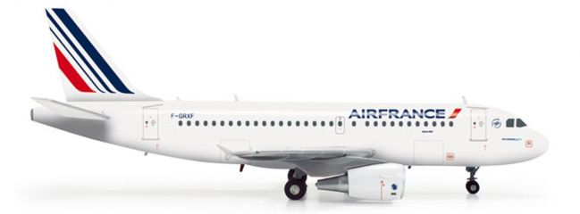 herpa 555371 A319 Air France Flugzeugmodell 1:200