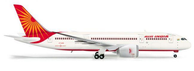 herpa 555388 B787-8 Air India Flugzeugmodell 1:200