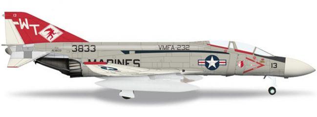 """herpa 555692 F-4J USMC """"Red Devils"""" Phantom Wings 1:200"""