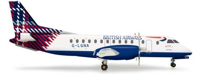 "herpa 555777 Saab 340 British ""Benyhone Tartan"" WINGS 1:200"