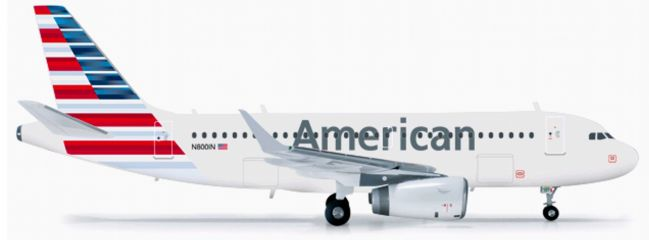 herpa 556330 American Airl. A319 mit Sharklets WINGS 1:200