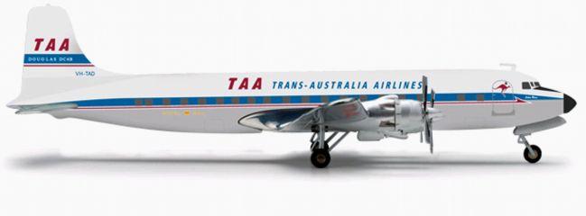 herpa 556354 Douglas DC-6B TAA WINGS 1:200