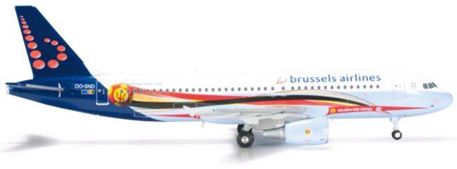 ausverkauft | herpa 556446 A320 Brussels Air Red Devils WINGS 1:200