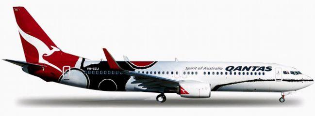 herpa 556491 B737-800 Qantas Mendoowoorrji WINGS 1:200