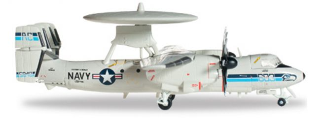 "herpa 556668 E-2C US Navy ""Seahawks"" WINGS 1:200"