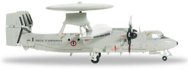 ausverkauft | herpa 556675 E-2C Hawkeye French Navy 4F WINGS 1:200