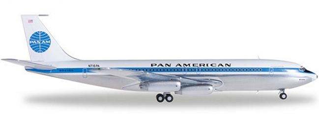 herpa 556835-001 Pan Am B707-320 Jet Clipper Liberty Bell | WINGS 1:200