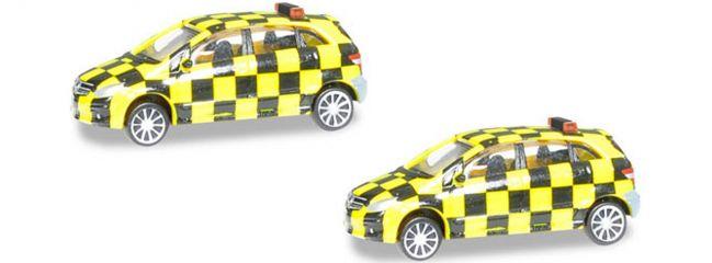 herpa 556880 MB Follow-Me Van Miniaturauto (2 Stück) WINGS 1:200