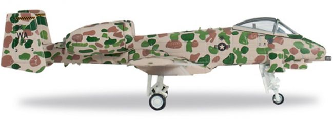 """herpa 557054 A-10A USAF """"JAWS"""" WINGS 1:200"""