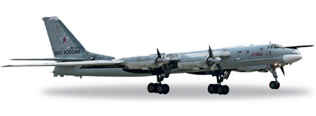"herpa 557061 TU-95MS Russian AF ""20-Dubna"" WINGS 1:200"