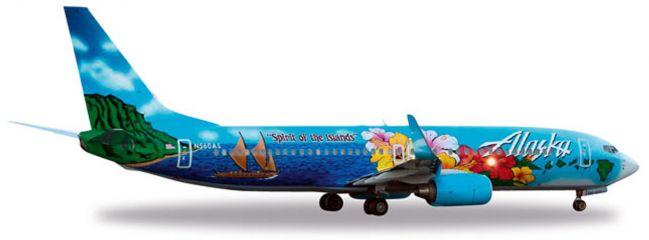 herpa 557184 B737-800 Alaska Airlines 'Spirit of the Islands' WINGS 1:200
