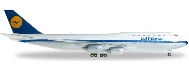 herpa 557221 B747-8 Lufthansa Retrojet | WINGS 1:200