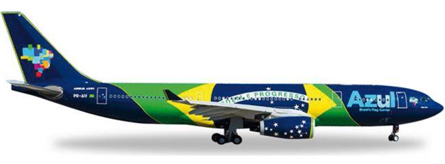 ausverkauft | herpa 557238 A330-200 Azul Brazilian Flag | WINGS 1:200