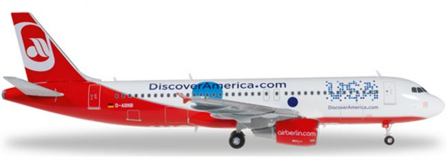 herpa 557306 A320 airberlin Discover USA | WINGS 1:200