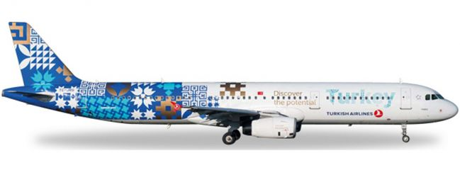 herpa 557900 A321 Turkish Discover Turkey | WINGS 1:200
