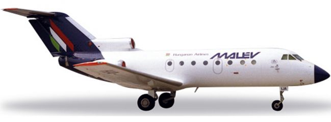 herpa 558037 Yak-40 Malev | WINGS 1:200