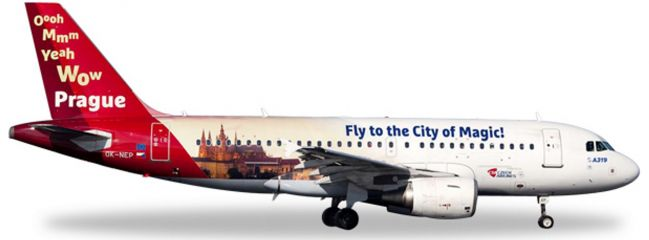 herpa 558075 A319 CSA Prague City of Magic | WINGS 1:200