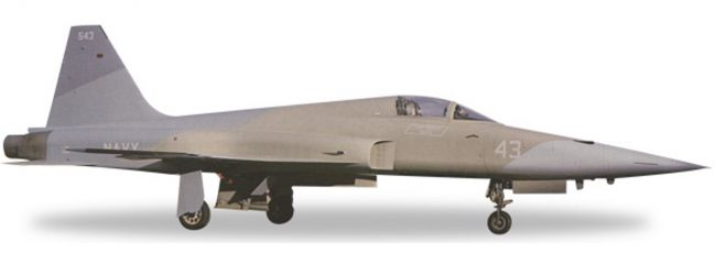 herpa 558099 F-5E US Navy Top Gun Heater scheme | WINGS 1:200