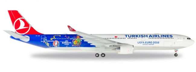 herpa 558105 A330-300 Turkish Airlines EM 2016 | WINGS 1:200