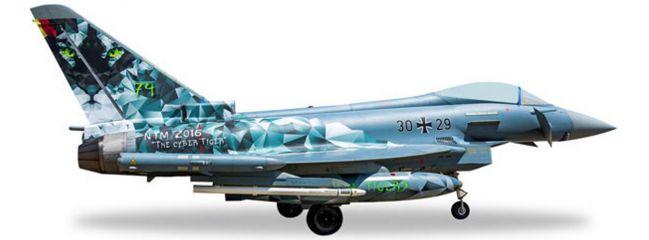 herpa 558327 Eurofighter Luftwaffe Cyber Tiger | WINGS 1:200