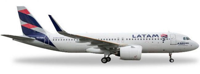 herpa 558341 A320neo LATAM | WINGS 1:200