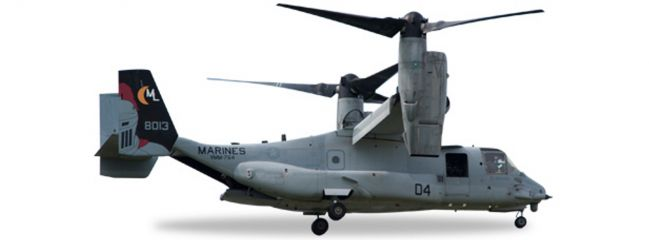 herpa 558365 Bell MV-22 USMC VMM-764 Moonlight | WINGS 1:200