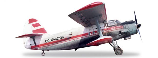 herpa WINGS 558587 Antonov AN-2 Aeroflot Polar Aviation Flugzeugmodell 1:;200