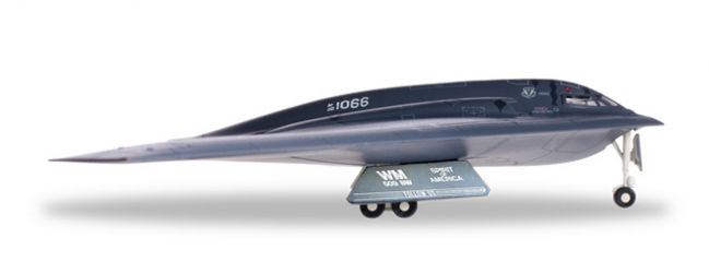 herpa WINGS 558648 Northrop Grumman B-2A Spirit US Air Force Spirit of America Militärflugzeug 1:200