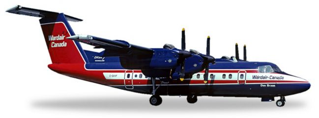 herpa WINGS 558792 De Havilland DHC-7 Wardair Canada Flugzeugmodell 1:200