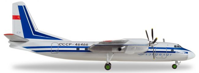 herpa 558914 Aeroflot Antonov AN-24RV | WINGS 1:200