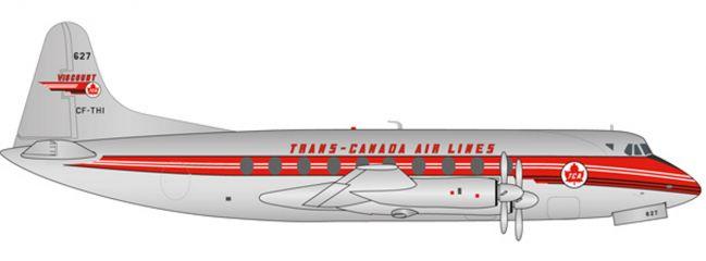 herpa 558938 Trans Canada Vickers Viscount 700 | WINGS 1:200
