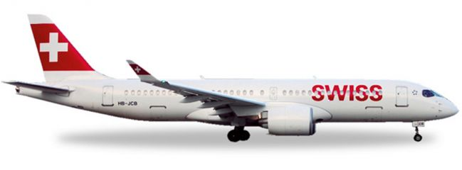 herpa 558952 Swiss International Bombardier CS300 | WINGS 1:200