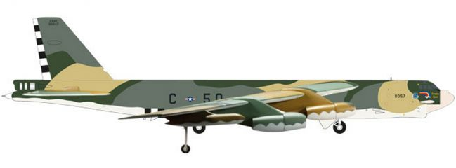 herpa 559003 USAF Boeing B-52H Stratofortress | WINGS 1:200