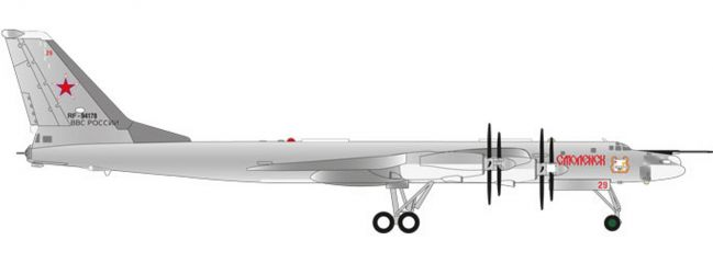 herpa 559089 Russian AF TU-95MS Smolensk | WINGS 1:200