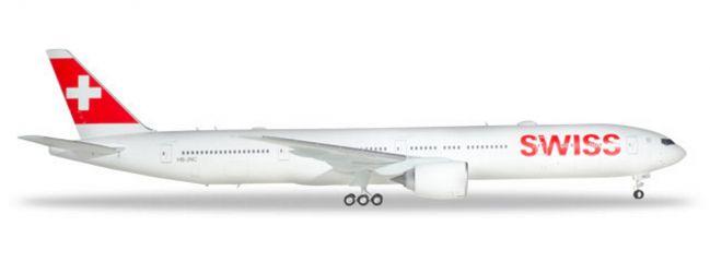 herpa 559317 Boeing 777-300ER Swiss International Airlines Flugzeugmodell 1:200