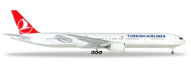 herpa 559379 Boeing 777-300ER Turkish Airlines Ayasofya Flugzeugmodell 1:200