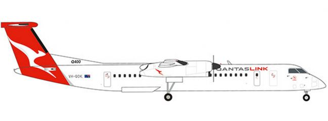 herpa 559546 QantasLink Bombardier Q400 new colors | WINGS 1:200